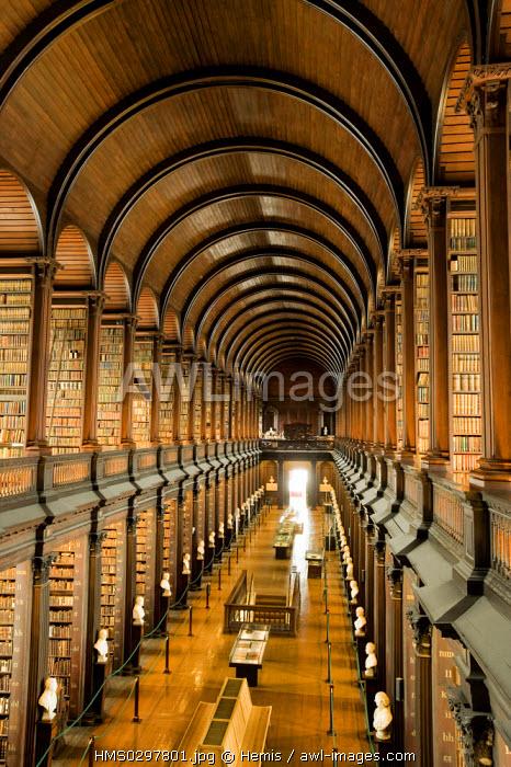 Republic of Ireland, Dublin, Trinity College, Old Library