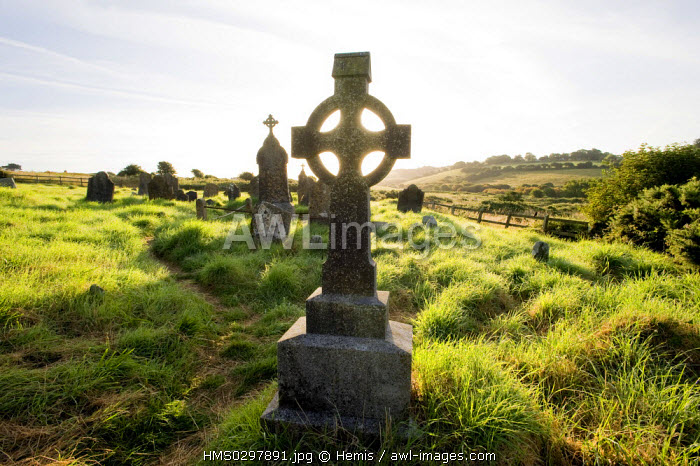 Republic of Ireland, Cork County, South West Coast, Kinsale, former cemetary
