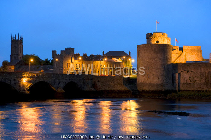 Republic of Ireland, Limerick County, Shannon Region, Limerick, King John's castle