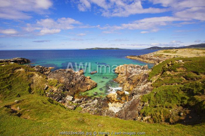United Kingdom, Highlands, Outer Hebrides, Isle of Harris, South West Coast, Luskenstyre Bay