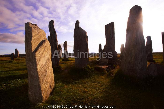 United Kingdom, Highlands, Outer Hebrides, Isle of Lewis, Callanish, Callanish Standing Stones