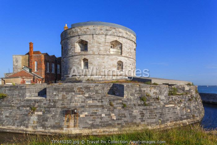 England, Hampshire, Calshot Castle