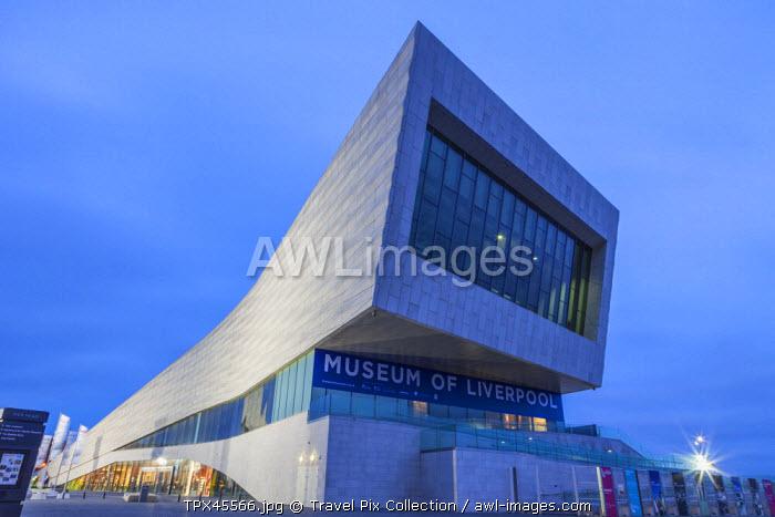 England, Merseyside, Liverpool, Museum of Liverpool