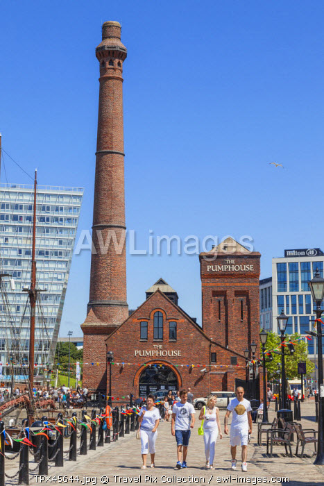 England, Merseyside, Liverpool, Albert Dock, The Pumphouse