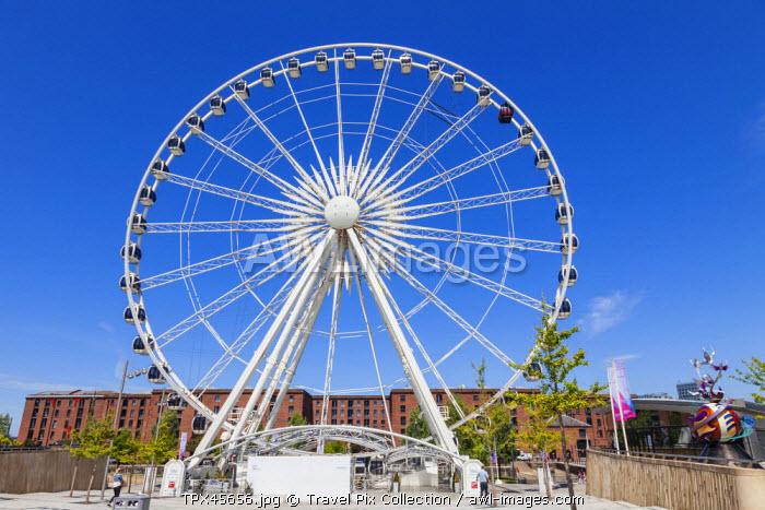 England, Merseyside, Liverpool, Albert Dock, The Wheel of Liverpool