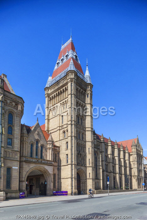 England, Manchester, University of Manchester, The Whitworth Building