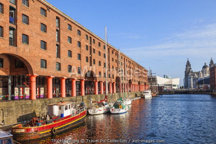 England, Merseyside, Liverpool, Albert Dock