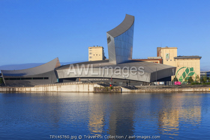 England, Manchester, Salford, The Quays, Imperial War Museums North
