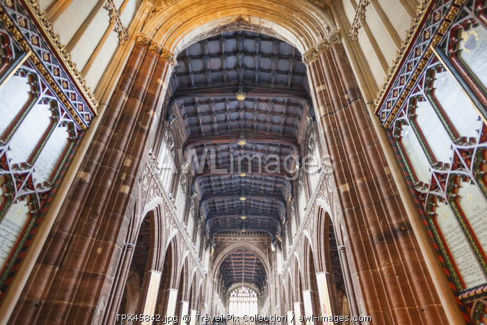 England, Manchester, Manchester Cathedral, Interior View