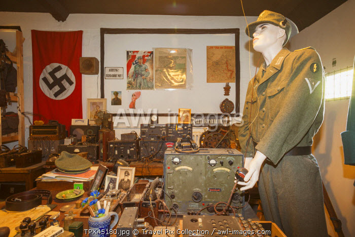 England, Buckinghamshire, Bletchley, Bletchley Park, Exhibit of WWII German Communications Office