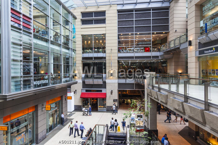 Australia, New South Wales, NSW, Sydney, The Galleries, shopping center, interior