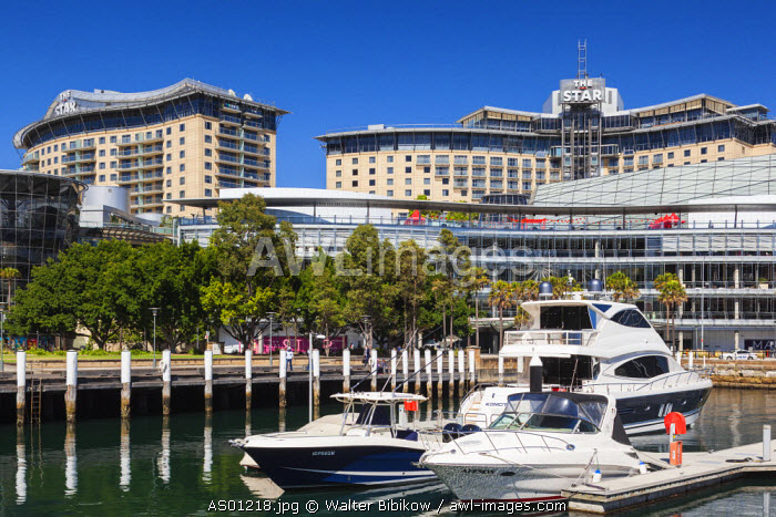 Australia, New South Wales, NSW, Sydney, The Star Casino and Hotel, exterior
