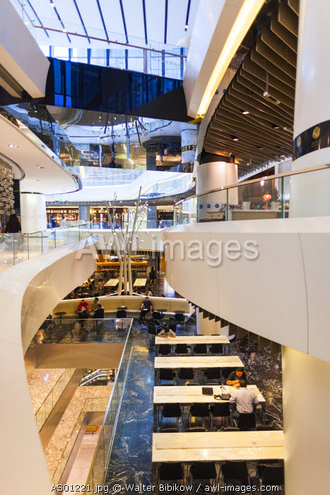 Australia, New South Wales, NSW, Sydney, The Westfield, shopping center, food court interior