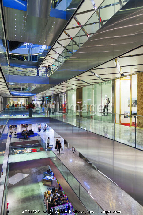 Australia, New South Wales, NSW, Sydney, The Westfield, shopping center, interior