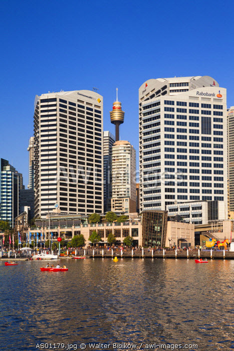 Australia, New South Wales, NSW, Sydney, Darling Harbour, late afternoon