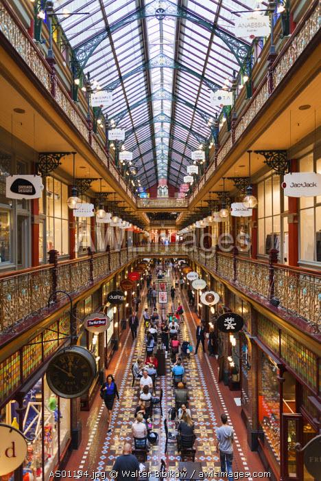 Australia, New South Wales, NSW, Sydney, Starnd Arcade, interior
