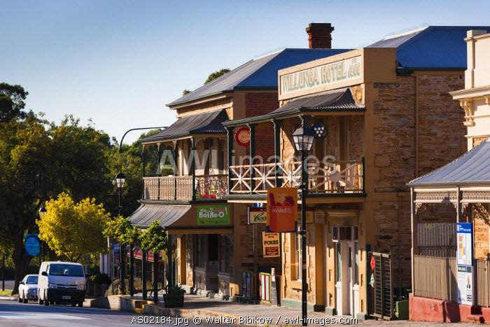 Australia, South Australia, Fleurieu Peninsula, Willunga, town view