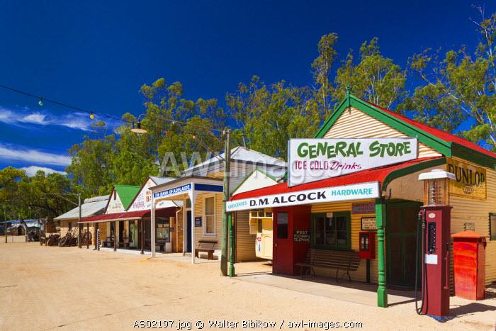 Australia, South Australia, Murray River Valley, Loxton, Loxton Historical Village, exterior