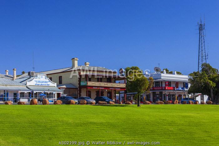 Australia, South Australia, Murray River Valley, Morgan, town view