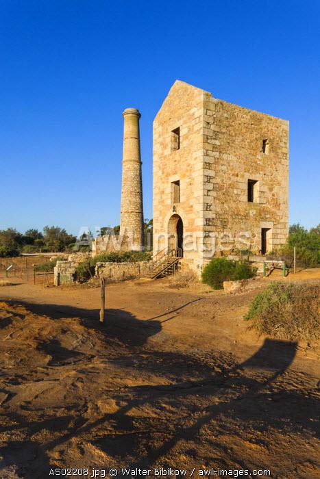 Australia, South Australia, Yorke Peninsula, Moonta, former copper-mining boom town, Moonta Mines, Hughes Engine House