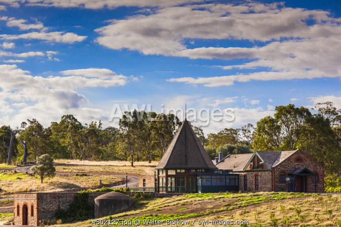 Australia, South Australia, Barossa Valley, Rowland Flat, Jacob's Creek Winery, old winery buildings