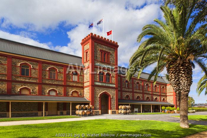 Australia, South Australia, Barossa Valley, Tanunda, Chateau Tanunda Estate Winery, exterior