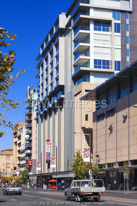 Australia, South Australia, buildings along North Terrace