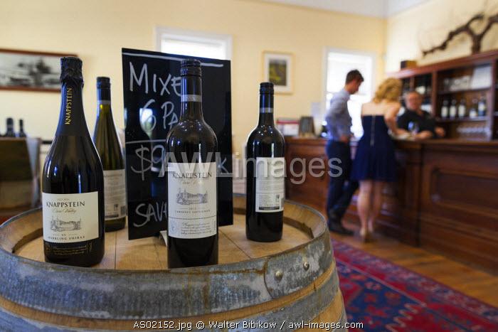 Australia, South Australia, Clare Valley, Clare, Knappstein Winery, wine tasting room