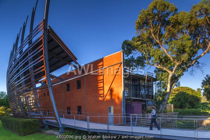 Australia, South Australia, Adelaide, National Wine Centre of Australia, exterior, dawn