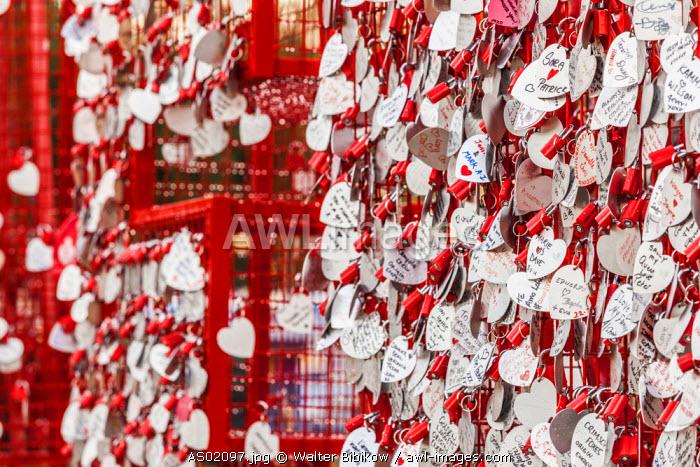 Australia, South Australia, Adelaide, Rundle Park, heart wishes
