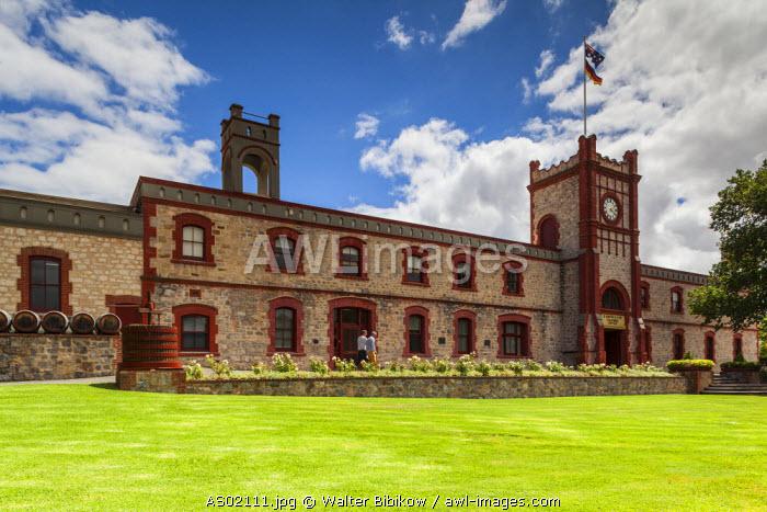 Australia, South Australia, Barossa Valley, Angaston, Yalumba Winery, exterior