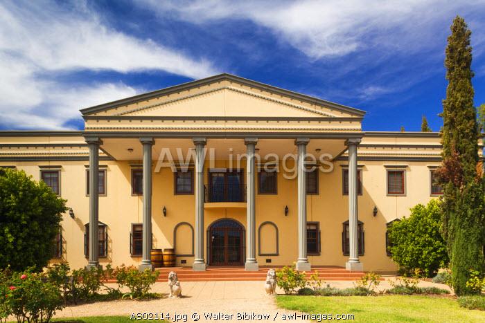 Australia, South Australia, Barossa Valley, Lyndoch, Chateau Barossa Winery, exterior