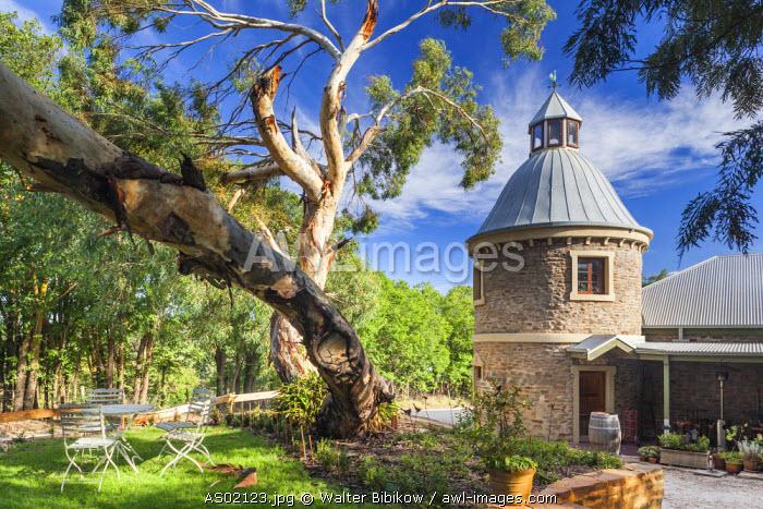 Australia, South Australia, Barossa Valley, Mount Pleasant, Peter Seppelt Winery, building exterior