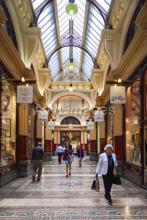 Australia, Victoria, VIC, Melbourne, The Block Arcade, interior