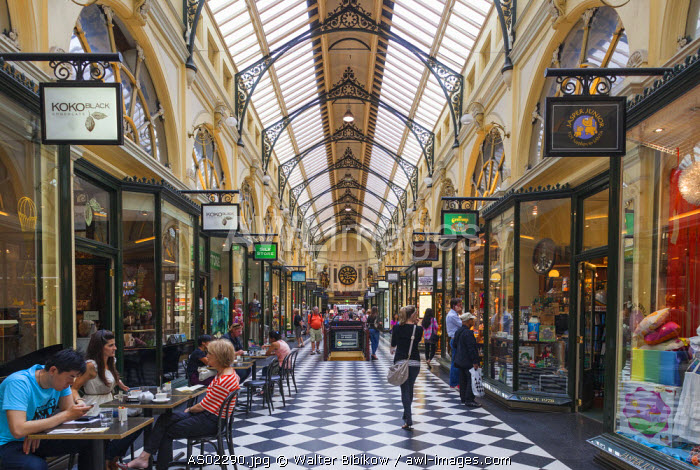 Australia, Victoria, VIC, Melbourne, The Block Arcade, interior