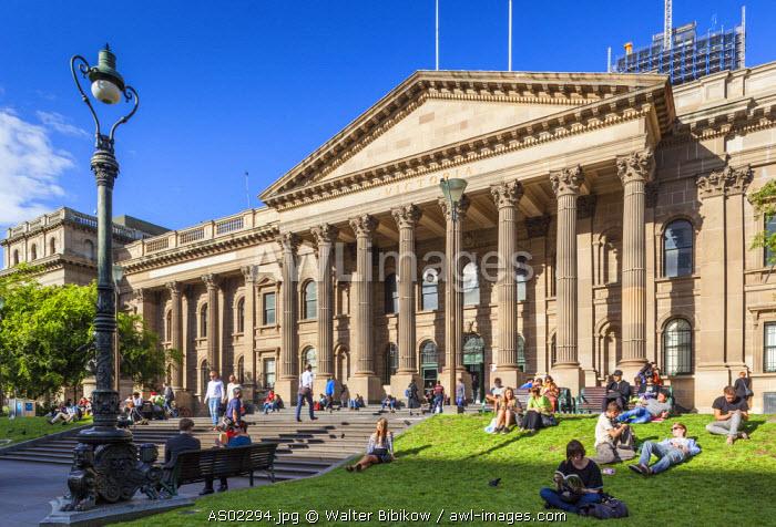 Australia, Victoria, VIC, Melbourne, Victoria State Library