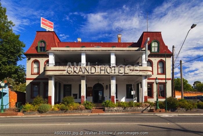 Australia, Victoria, VIC, Yarra Valley, Healesville, The Grand Hotel
