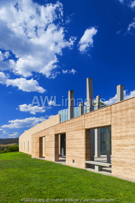 Australia, Victoria, VIC, Yarra Valley, Yarra Glen, Tarrawarra Estate Winery, exterior
