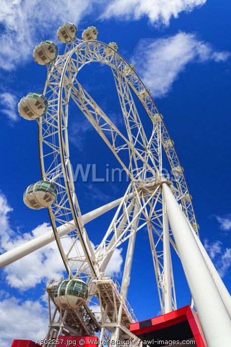 Australia, Victoria, VIC, Melbourne, Docklands, Victoria Harbour, Harbour Town Complex, Southern Star Observation Wheel