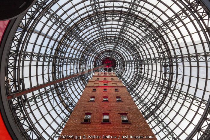 Australia, Victoria, VIC, Melbourne, Melbourne Central shopping mall, interior