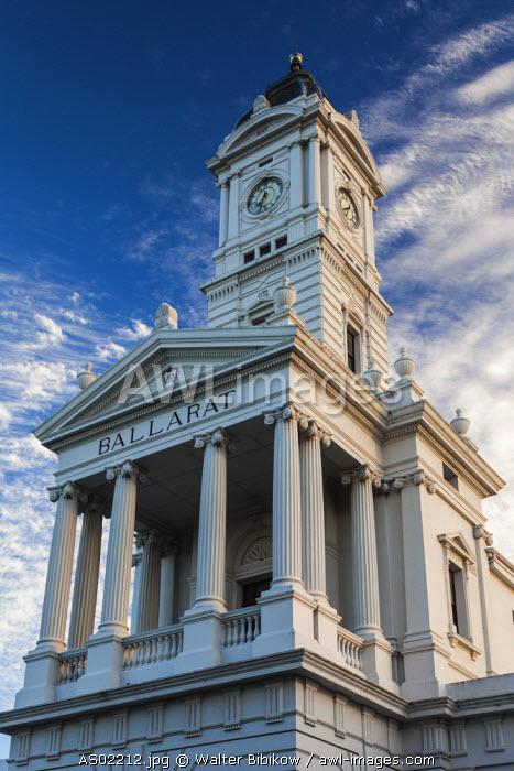 Australia, Victoria, VIC, Ballarat, Ballarat Train Station tower