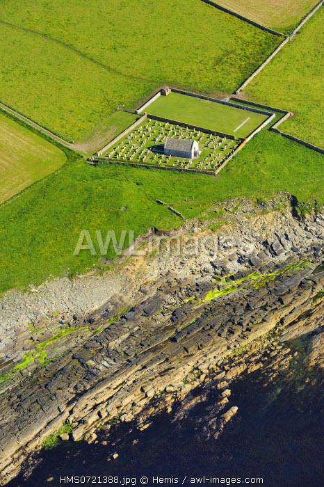 United Kingdom, Scotland, Orkney Islands, Papa Westray Island, marine cemetery