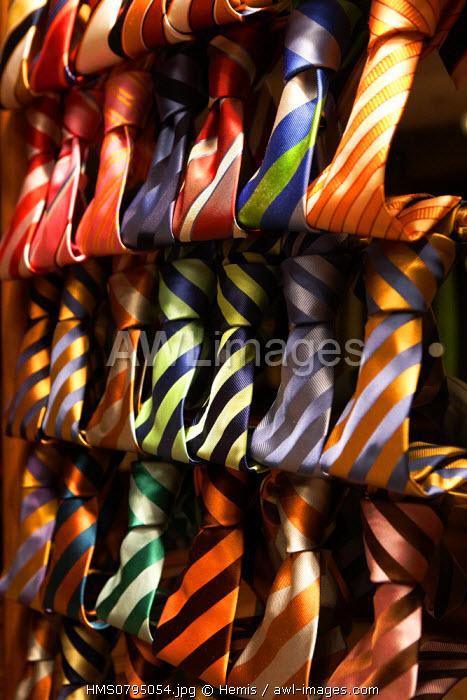 United Kingdom, London, tie store