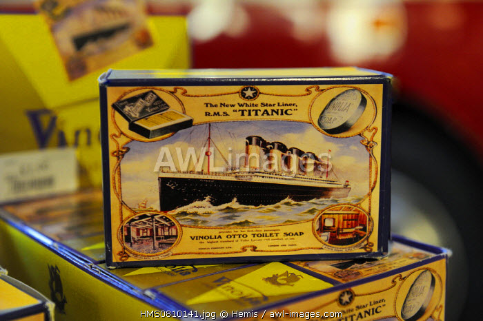 United Kingdom, Northern Ireland, Cultra near Belfast, Ulster Folk and Transport Museum, soap named after the RMS Titanic