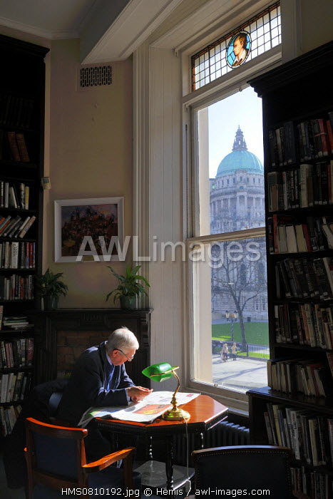 United Kingdom, Northern Ireland, Belfast, Linen Hall Library