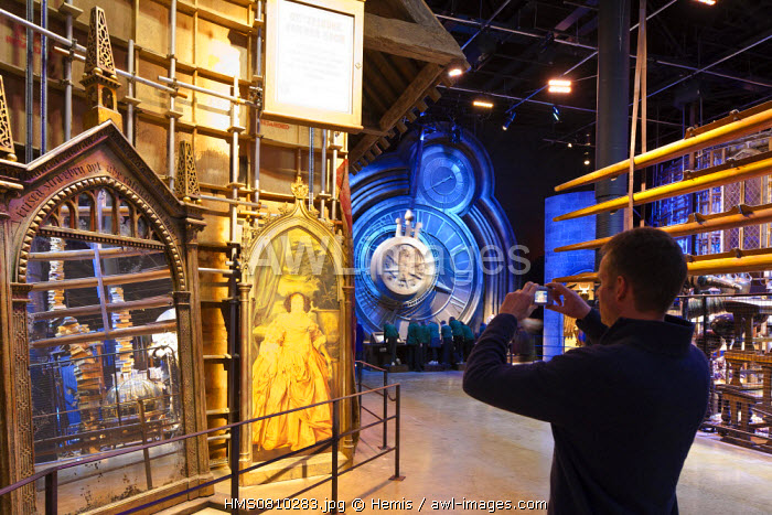 United Kingdom, London, Hertfordshire, Leavesden, Leavesden Film Studios, Harry Potter Studio Tour London, the scene of the eight Harry Potter movies' making of