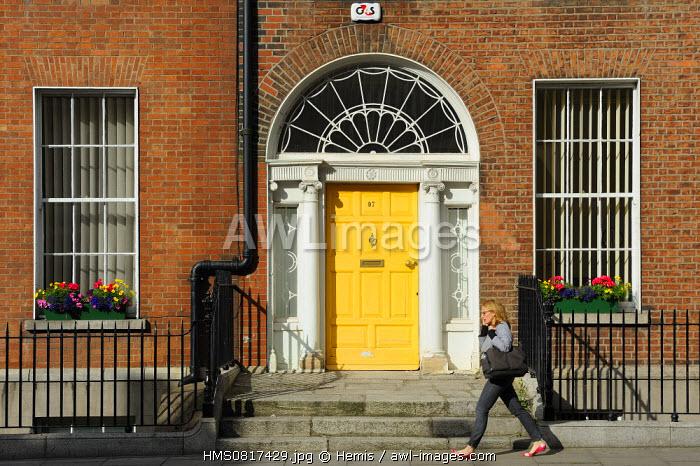 Ireland, Dublin, St Stephen's green