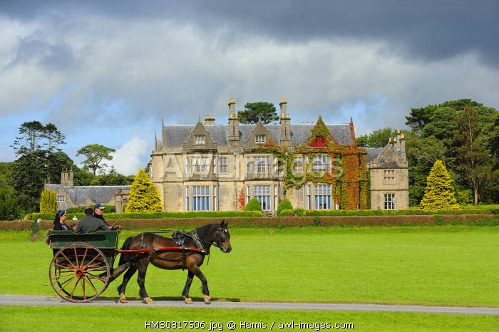 Ireland, County Kerry, Killarney, Muckross House and Gardens