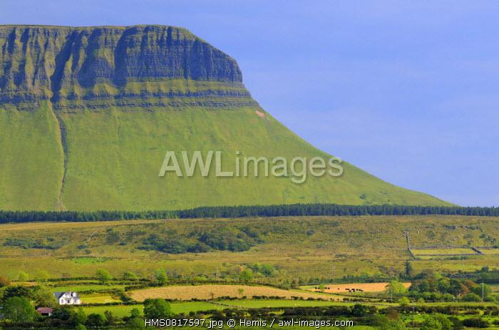 Ireland, County Sligo, Yeats country, Ben Bulben mountain