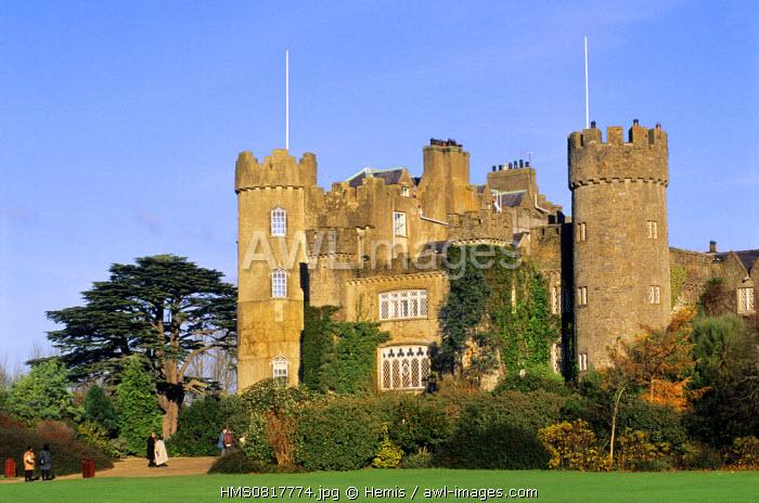 Ireland, County Dublin, Malahide castle